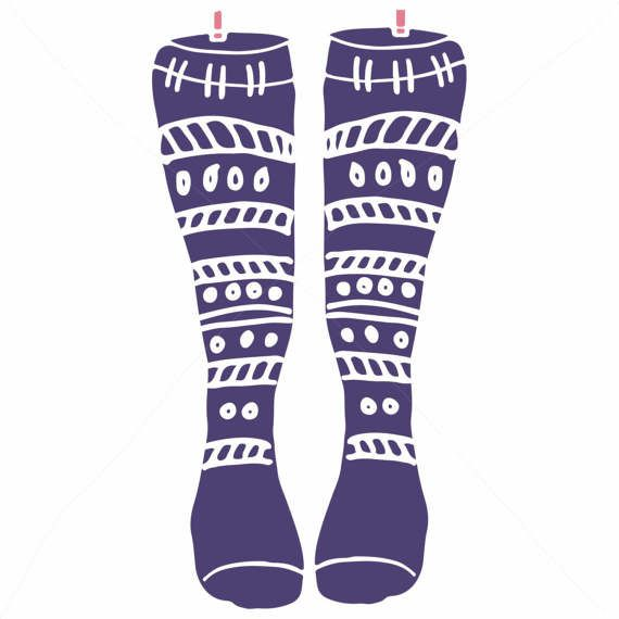 Knitting clip art socks. Sock clipart knitted sock image freeuse stock