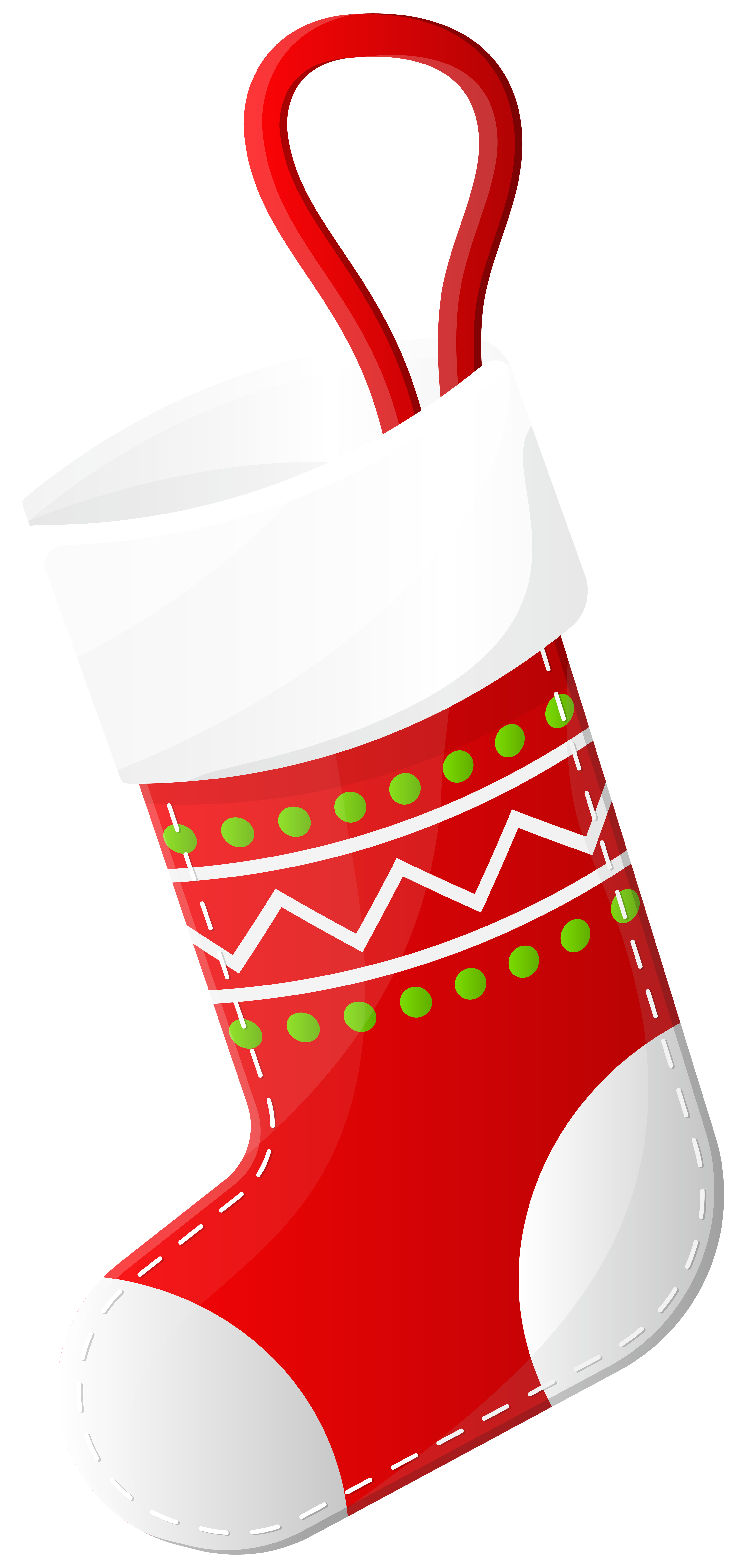 Sock clipart red. Christmas stocking clip art