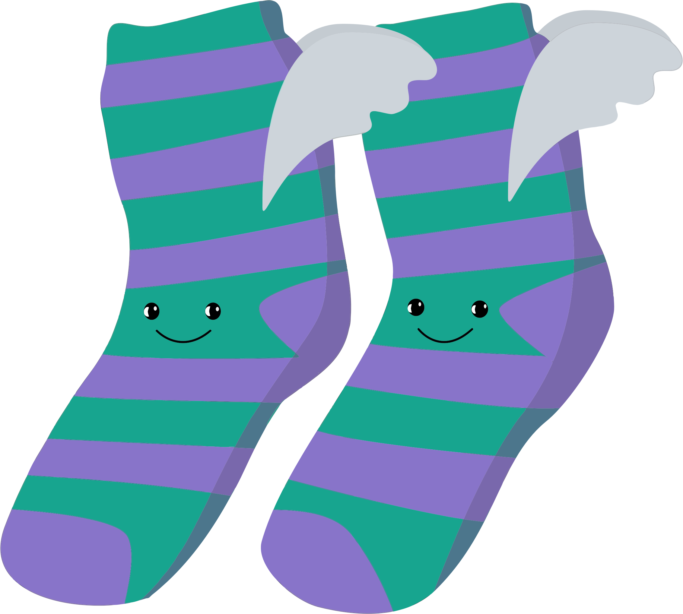Socks clipart winged. Anthropomorphic big image png