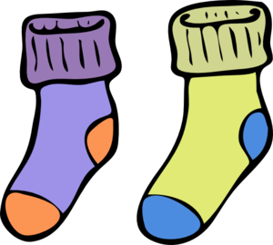 Clip art quiet book. Socks clipart six free library
