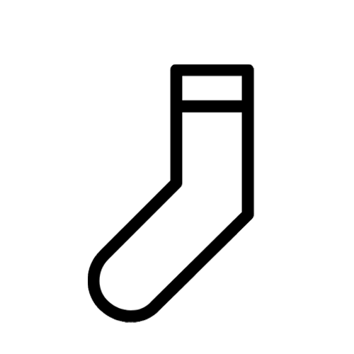 What type are you. Sock clipart wool sock jpg black and white