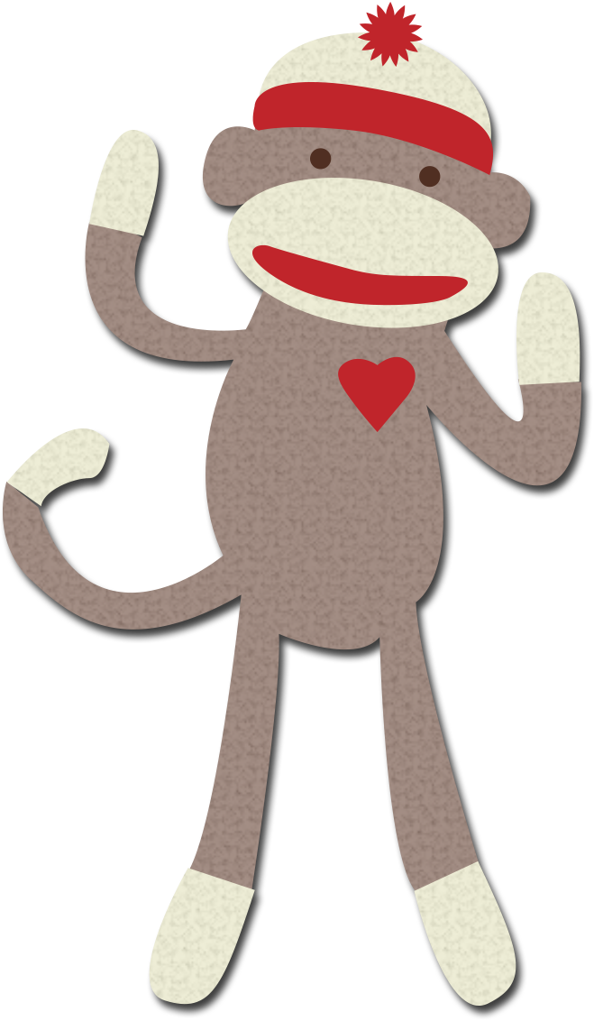 Sock monkey png. Clipart google search autism