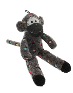Sock monkey png. Dog happy pet skip