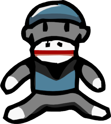 Scribblenauts wiki fandom powered. Sock monkey png image black and white download