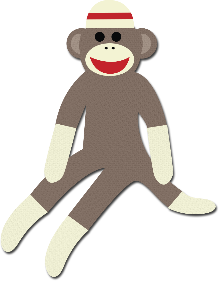sock monkey png
