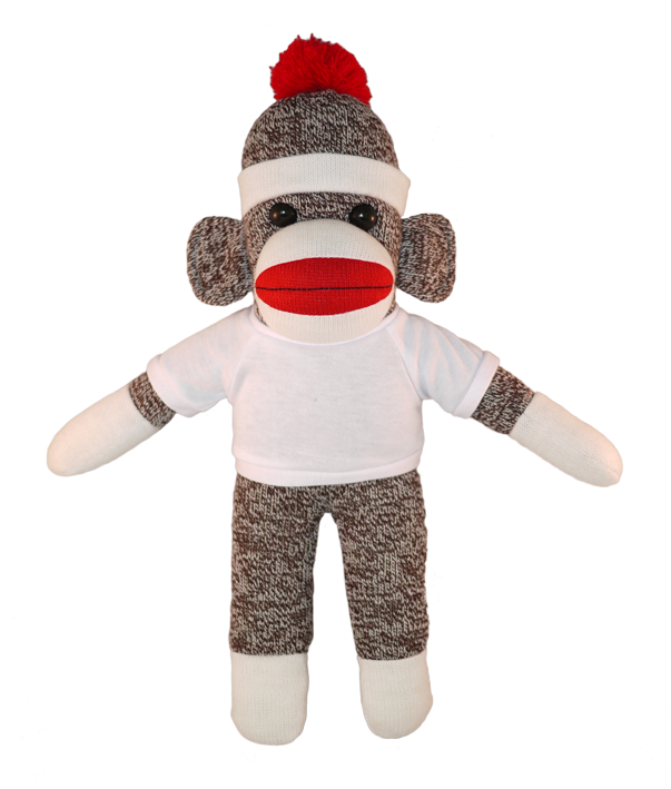 Bear with me original. Sock monkey png vector transparent download