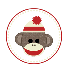 Sock monkey png. Once upon a time