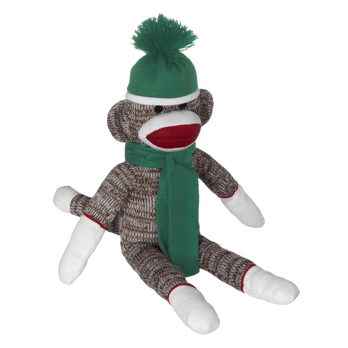 Sock monkey png. Embroider buddy