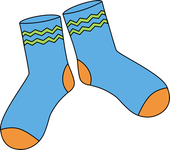 Socks clipart. Long