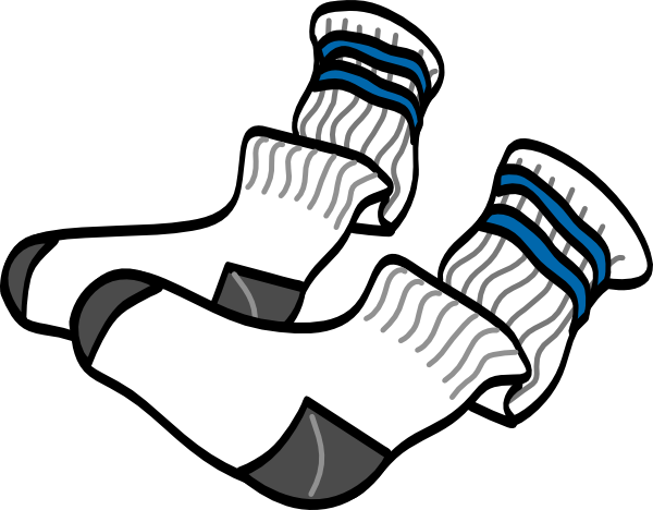Socks clipart. Athletic crew clip art png free library