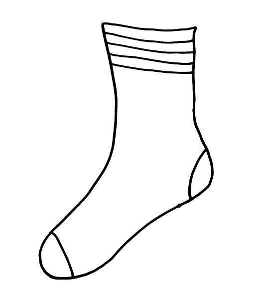 Socks clipart printable. Images of fox