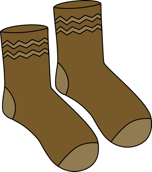 Clip art images brown. Socks clipart patterned sock clip art freeuse stock