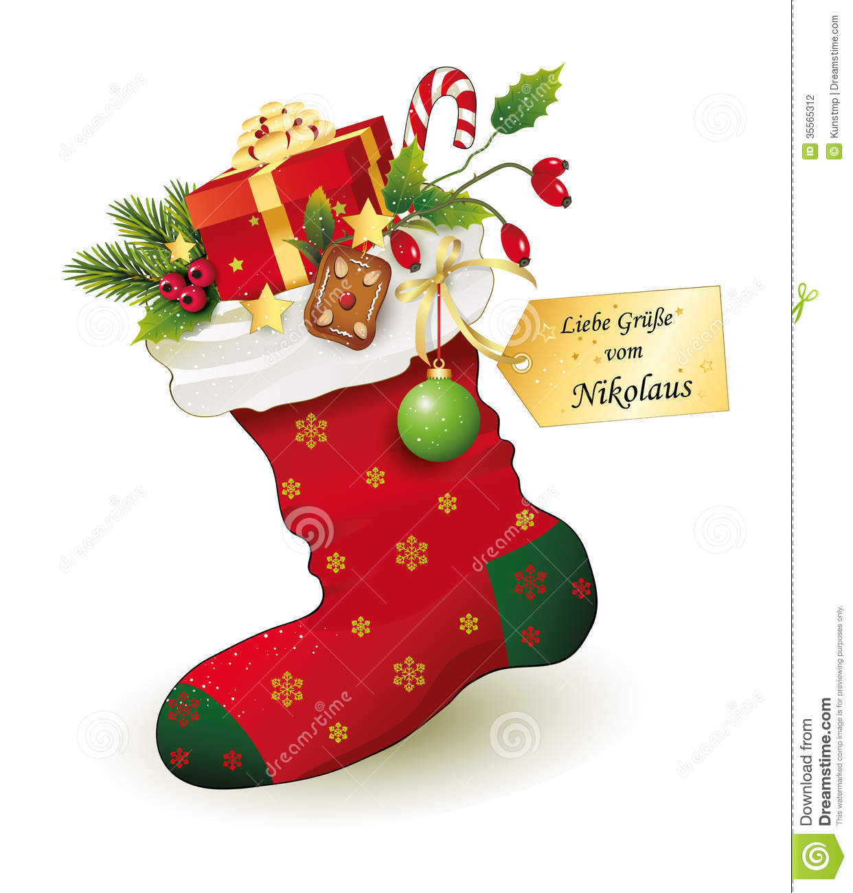 Socks clipart santa claus. Red christmas stocking with png transparent download