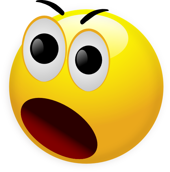 Socks clipart shock. Free picture of shocked