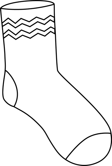 Clipart cilpart marvellous ideas. Sock clip one graphic stock
