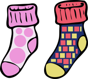 Clip art graphics digital. Socks clipart six svg stock
