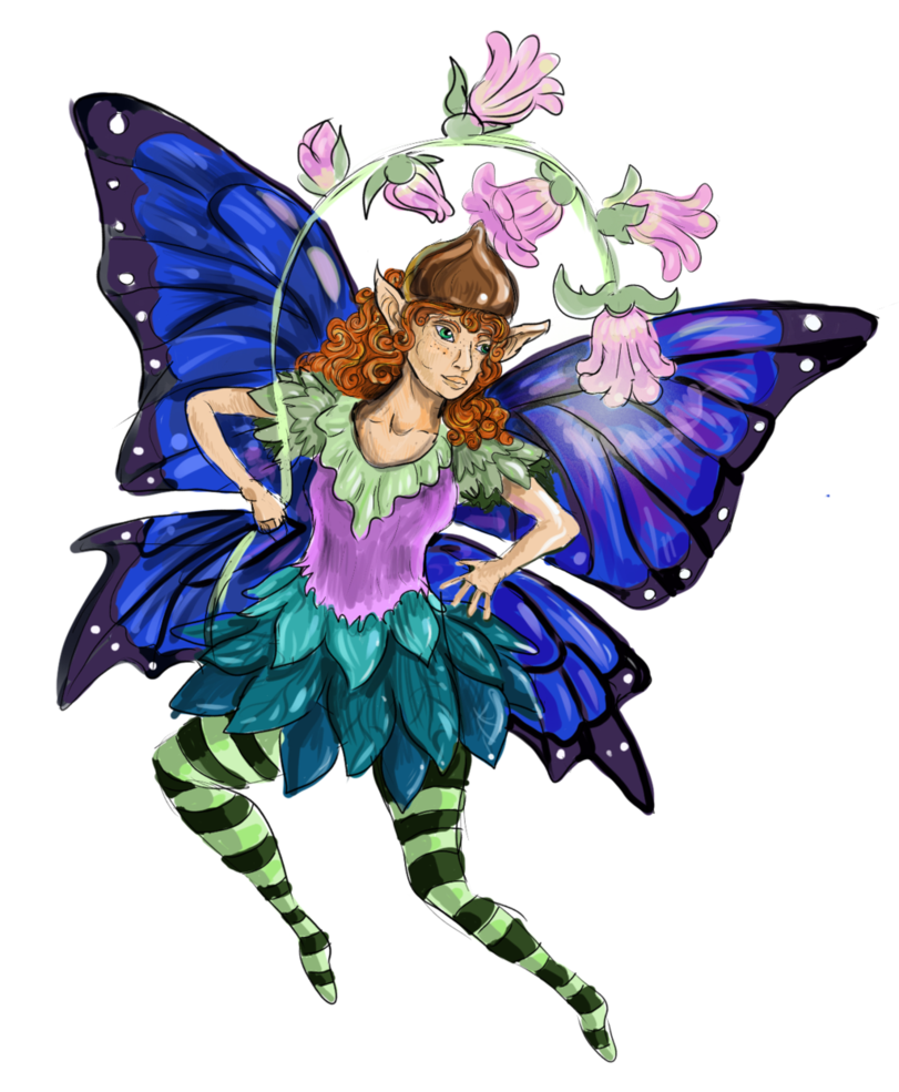 Socks clipart winged. Pixie by shadowind on