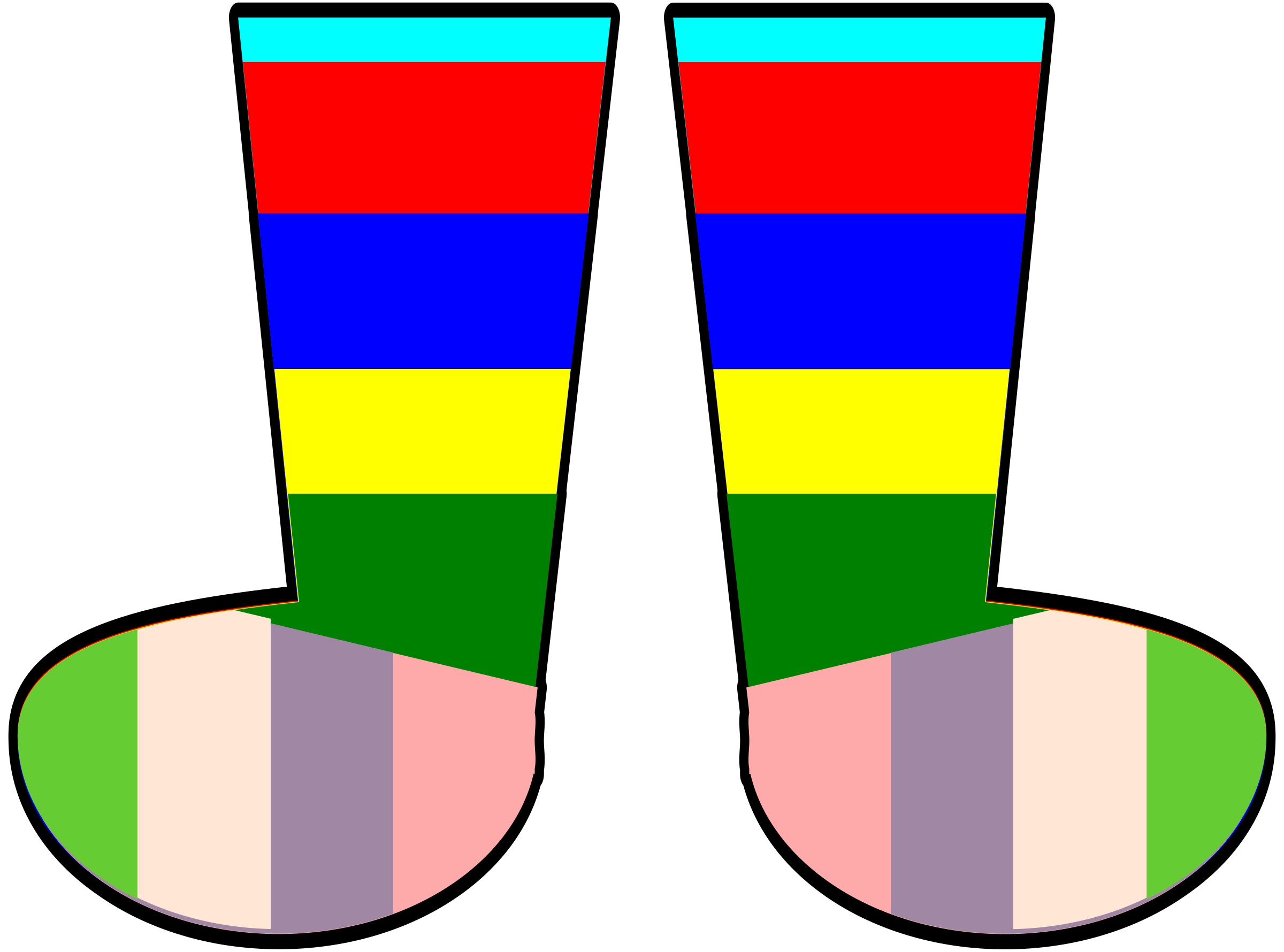 Rainbow icons png free. Socks clipart winged svg transparent stock