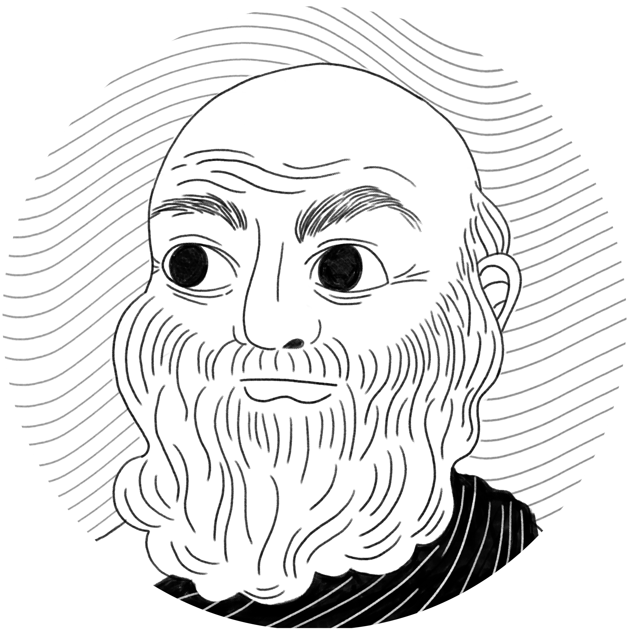 Socrates drawing iphone. Various illustration rhymes with