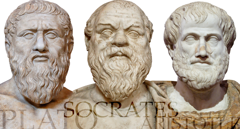 Socrates statue png. From presocratic to classical