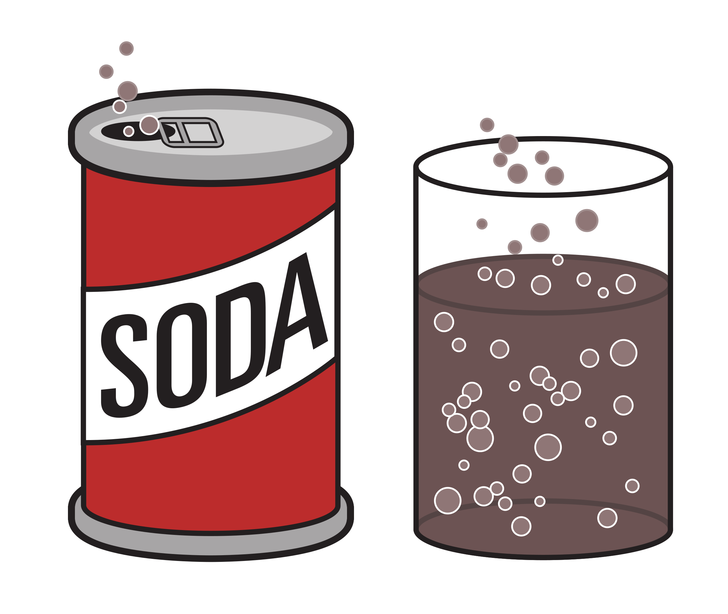 soda clipart object shows