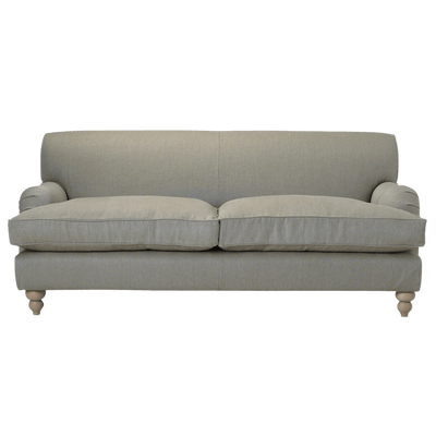 Transparent couch grey. Fabric sofa png stickpng