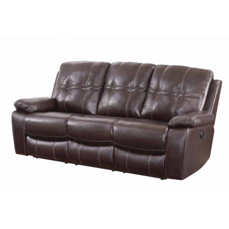 Sofa transparent brown. Power jubilee furniture las