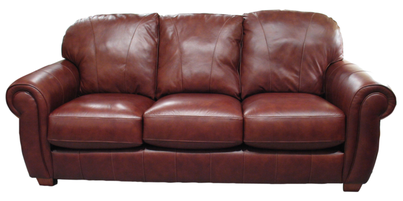 Sofa transparent brown. Download free png image