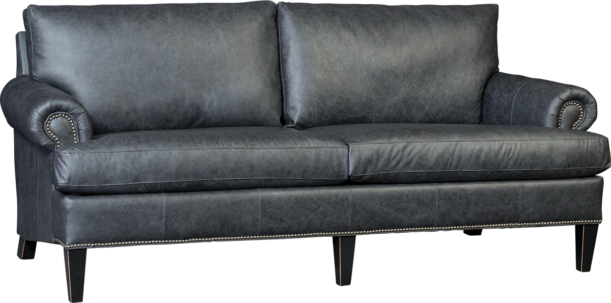 Sofa transparent chair. Mayo leather upholstery l