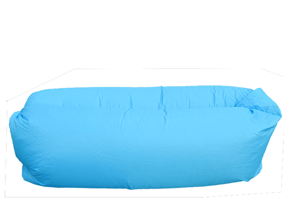 Transparent couch inflatable. Outdoor sofa sleeping bag