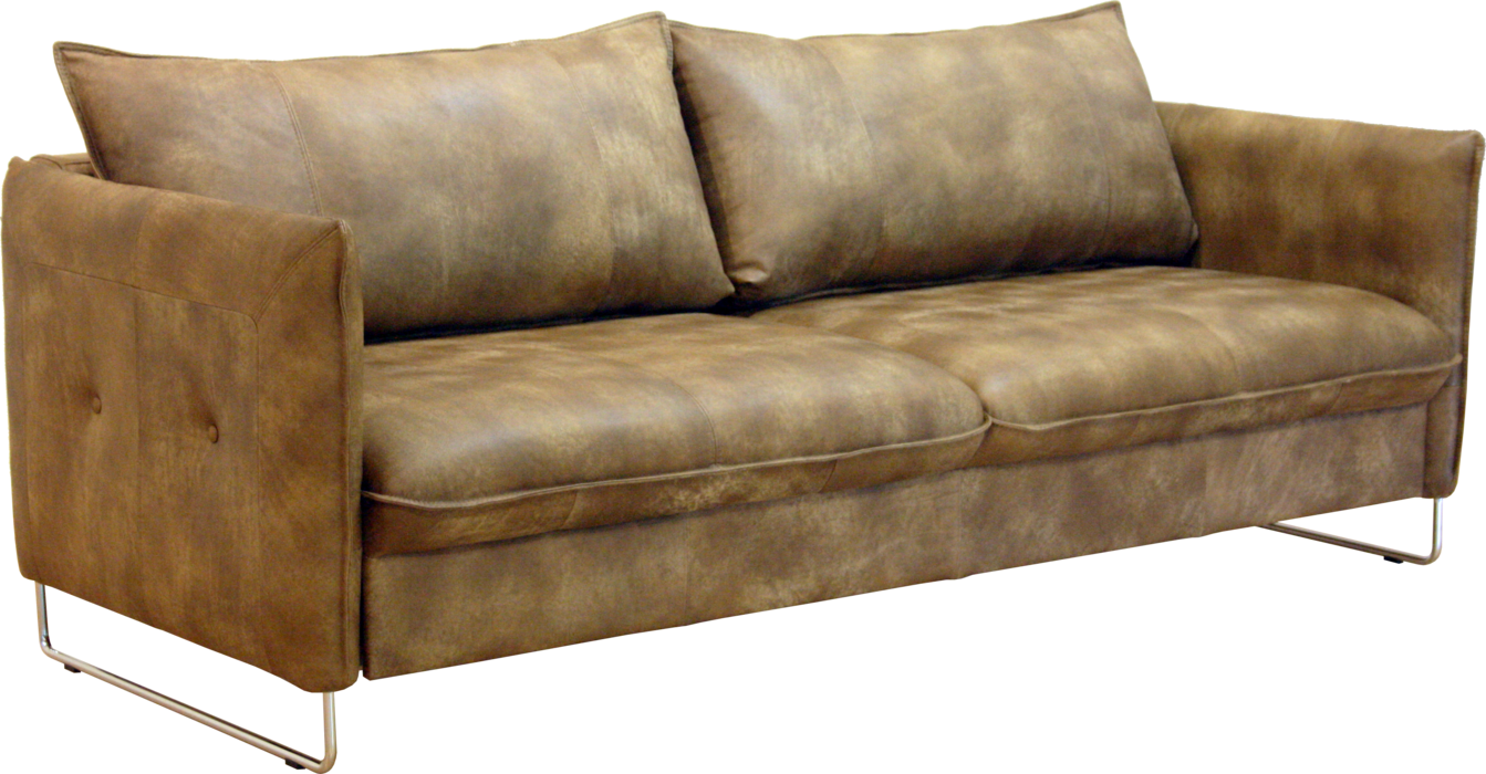 transparent couch light brown