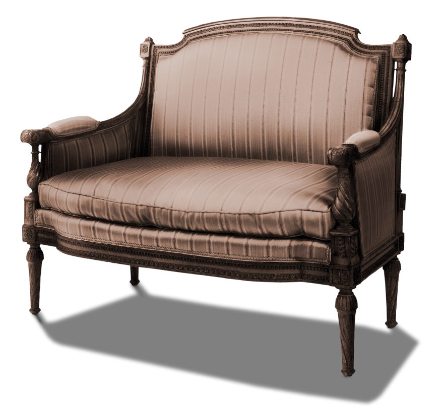 Sofa transparent vintage. Seat png picture gallery