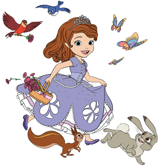 Sofia the first clover png. Image stock art disney
