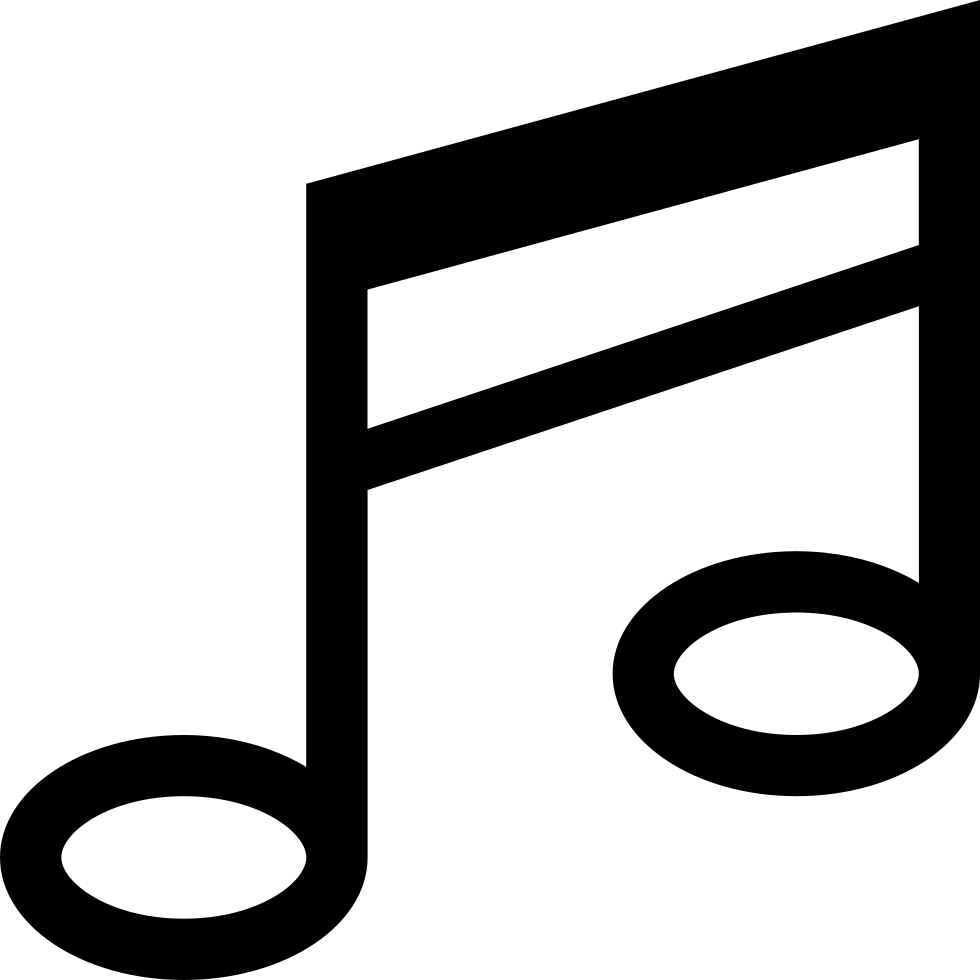 Soft music notes png. Note symbol svg icon