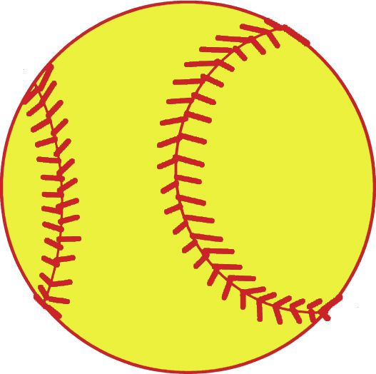 Bow clipart softball. Free download images