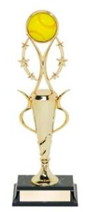 Softball clipart trophy. Trophies girls fastpitch awards