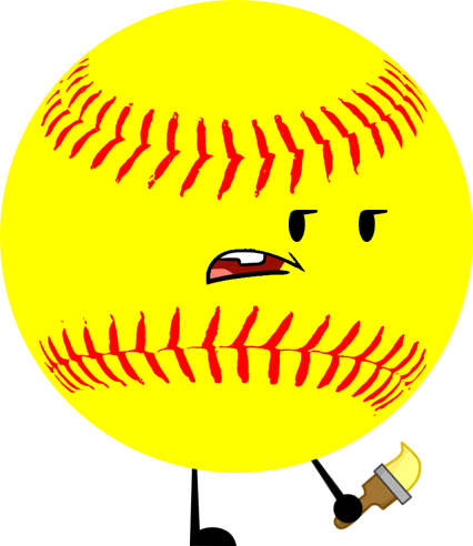 Softball heart png. Image cfcc object shows