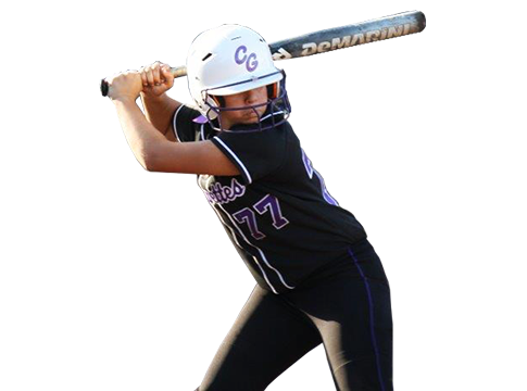 Softball player png. California grapettes girls fastpitch