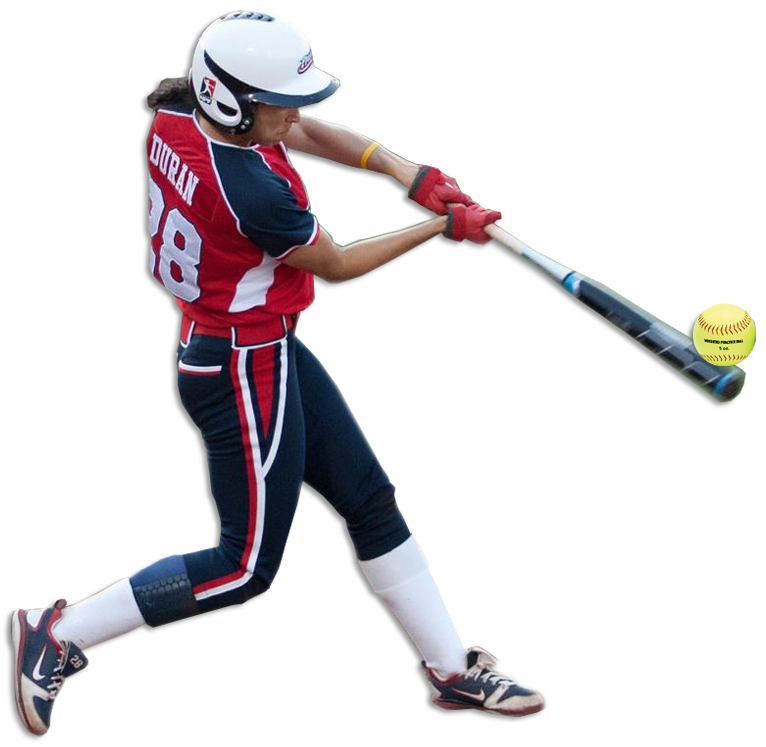 Softball player png. Stars and stripes sports