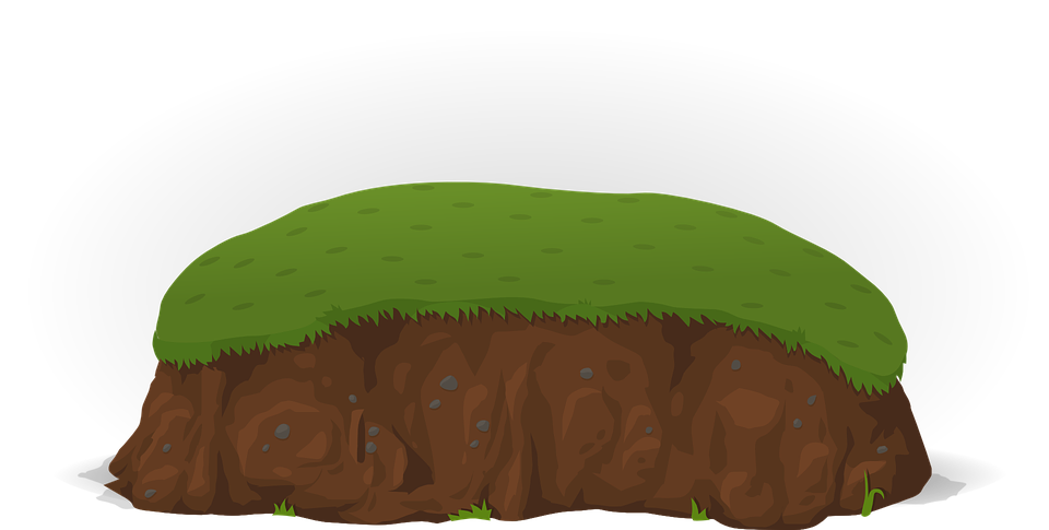 Soil clipart hill. Free image on pixabay