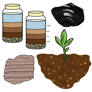 Soil clipart soil earth. S surface rocks and
