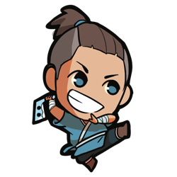 sokka drawing chibi