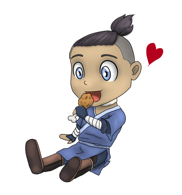 Sokka drawing deviantart. Chibi by dreamfollower on