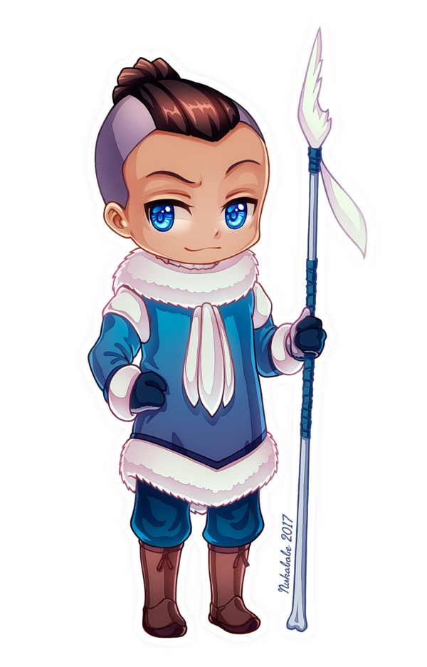 Sokka drawing. Of the water tribe