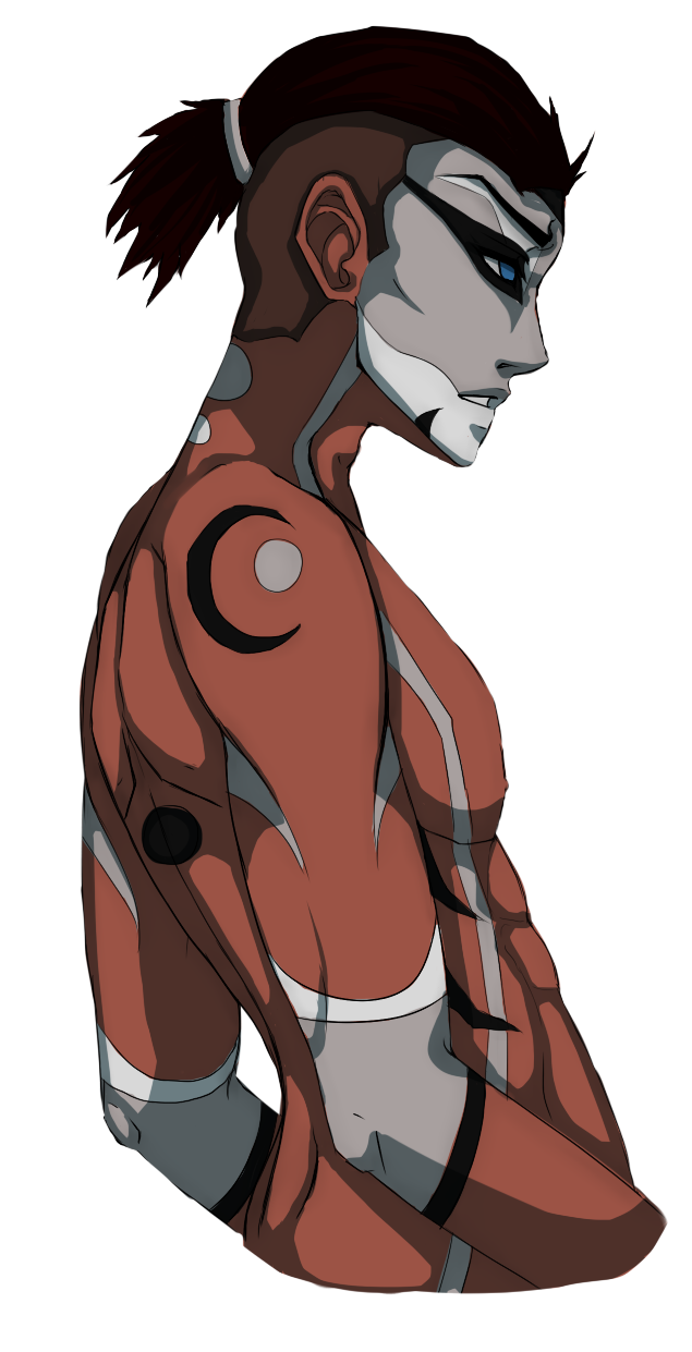 sokka drawing muscle