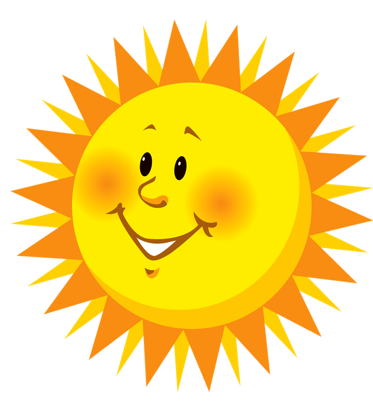 Sol animado png. Smiley clip art transprent