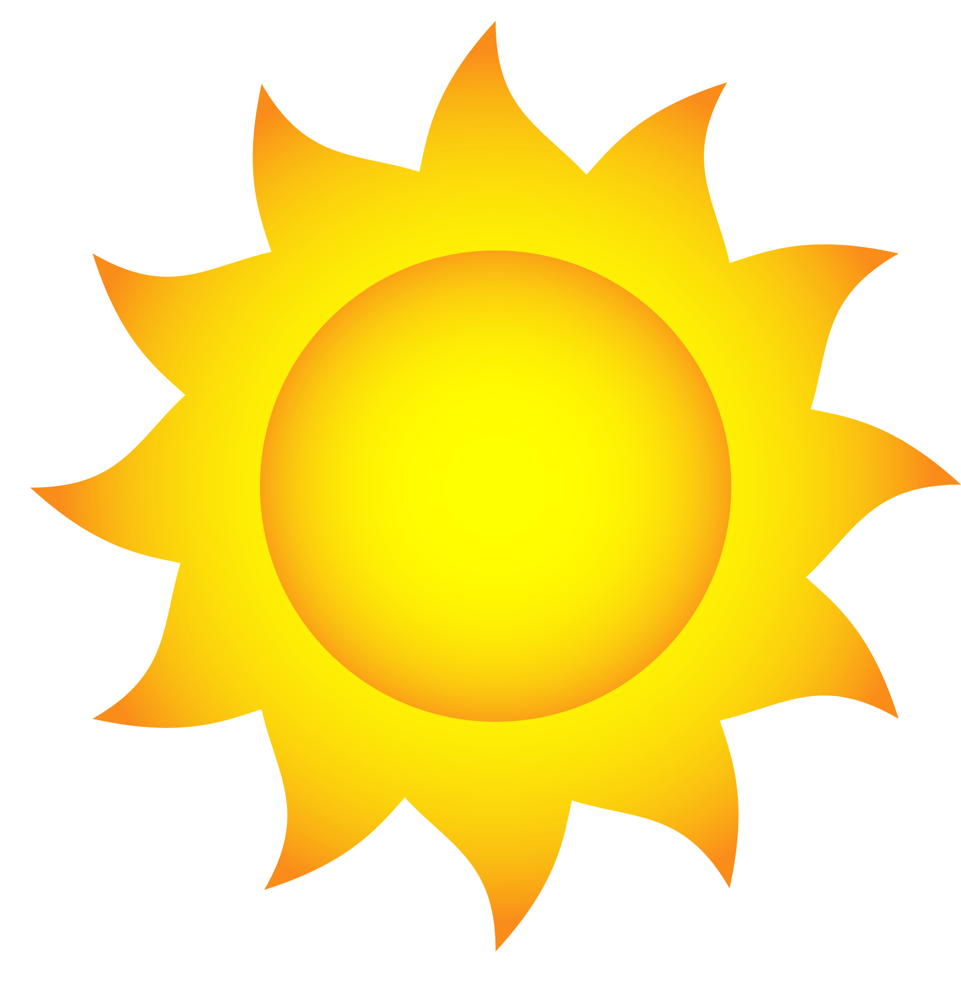 Sol animado png. Transparent sun clipart picture