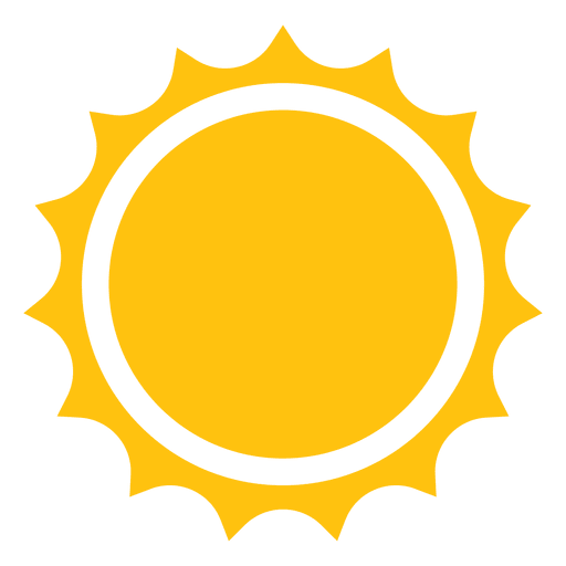 Sol png. Sun sharp rays icon