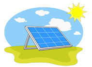 solar panel clipart energy source