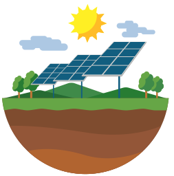 Solar panel clipart energy source. Renewable degrees letsgosolar com